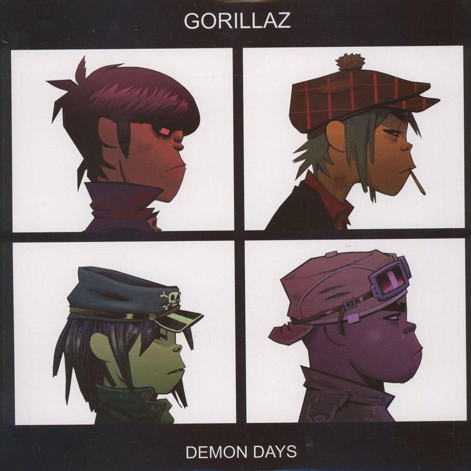 Gorillaz - Demon Days Colored Vinyl Edition