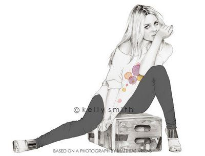 Birdy & Me : Illustrations & Musings by Kelly Smith: Mary Kate Olsen