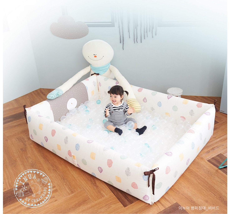 Creamhaus Inua Bumper Bed Vivid 160x110x40cm