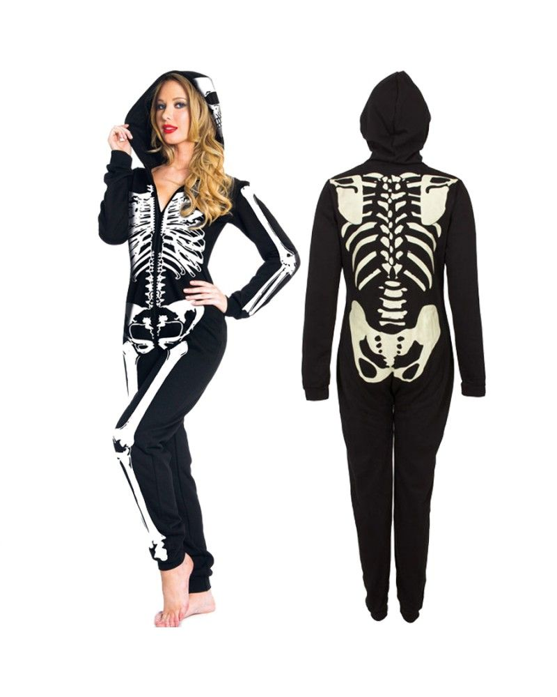 e9142290d Glow in the Dark Skeleton Onesie - Tragic Beautiful buy online from ...