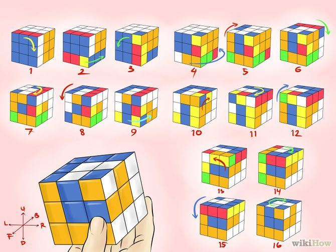 How To Make Awesome Rubik S Cube Patterns Cubes Are Combination Puzzles The Have Nine Faces On Each Side Of Square And