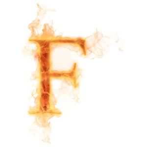 Psd Detail Burning Letter F Official Psds Lettering Abstract Artwork Clothes Design