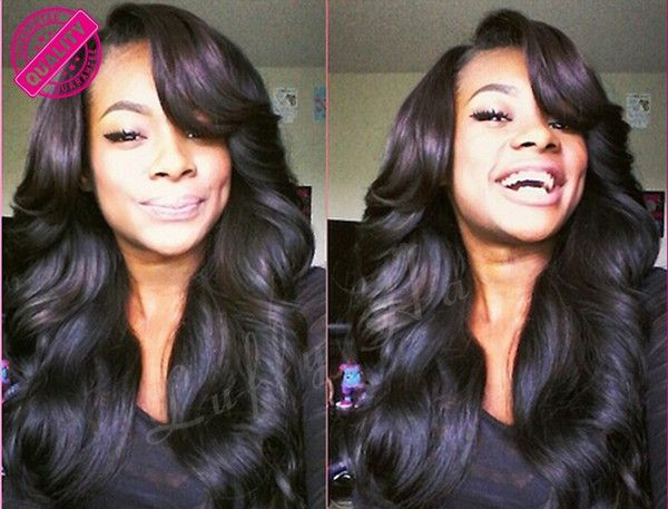 Brazilian Hair U Part Wig Unprocessed Human Hair Right