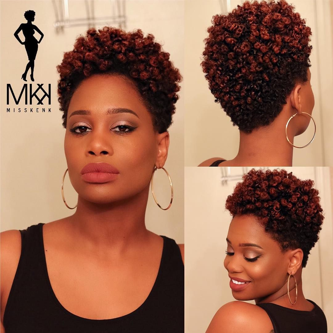 Coiffure Afro Bantu Knots Bantu Knot Out On Tapered Natural Hair Videoupnext