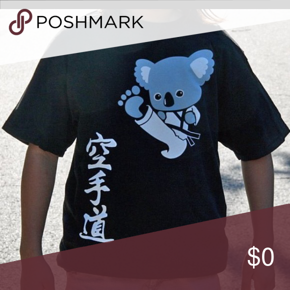 ISO: karate do koala t shirt. XXL In search of this karate do koala shirt. If anyone knows where to get this please reply with a listing or a website where it can be purchased!! Thanks! Tops Tees - Short Sleeve