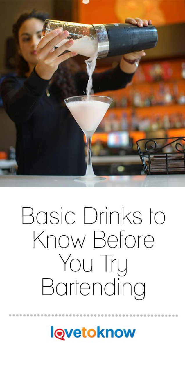 Every bartender needs to know how to prepare a variety of ...