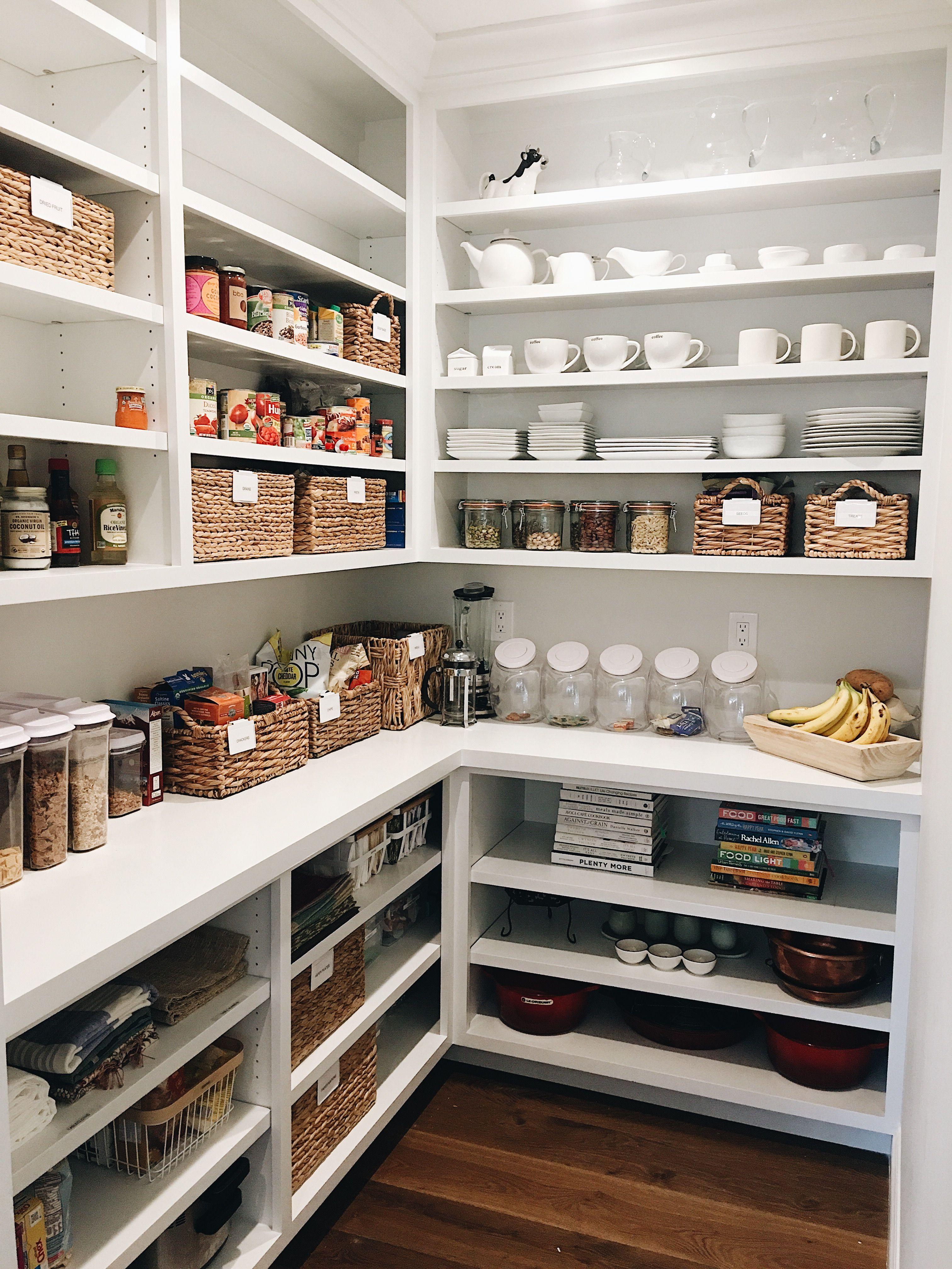 Pantry goals food pantry in 2019 Kitchen organization