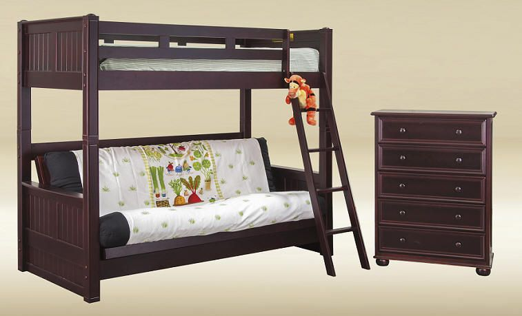 heritage twin over futon bunk bed heritage twin over futon bunk bed   bunk beds   pinterest   futon      rh   pinterest