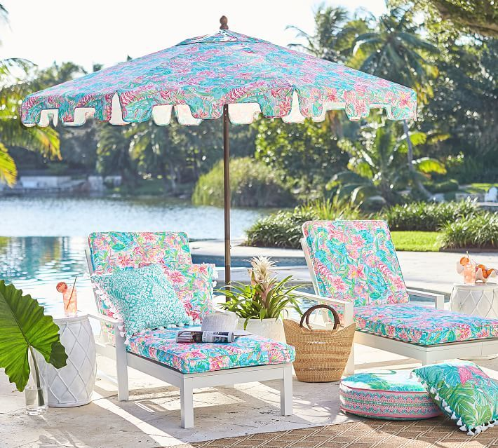 Lilly Pulitzer Lilly Of The Jungle Capri Outdoor Market