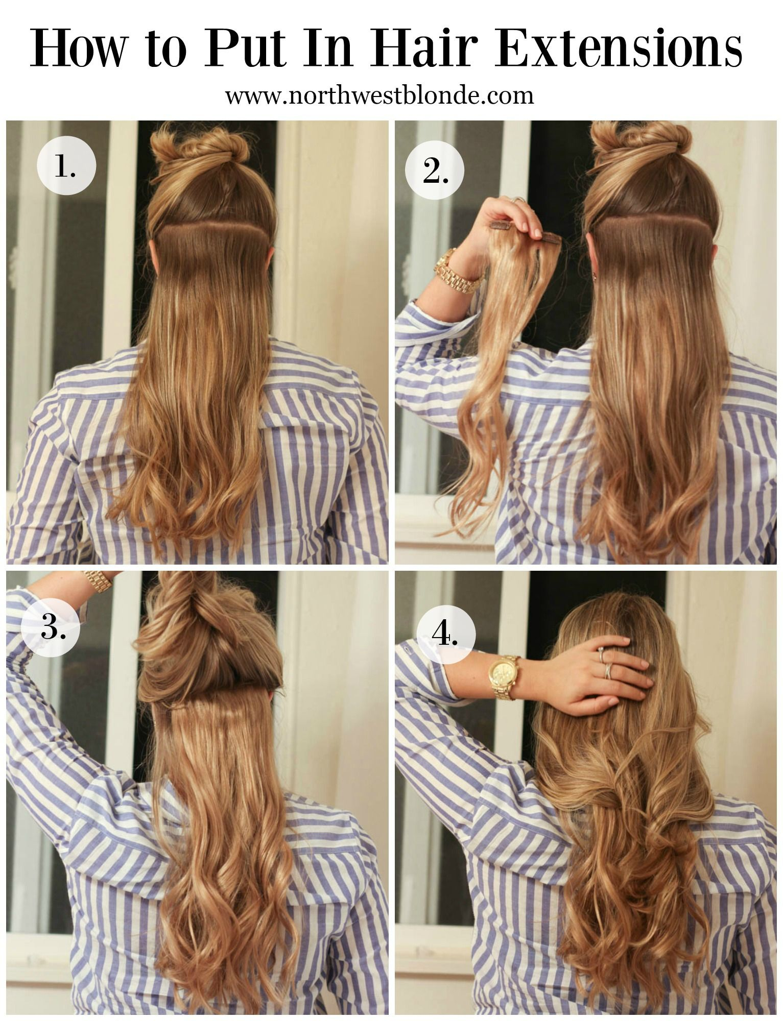 Hair extension are a great way to instantly add volume to