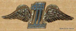 Harley Davidson Motorcycles Lapel Pins - Lot of 2 - Wings - #1 - Orange Shield $11.02