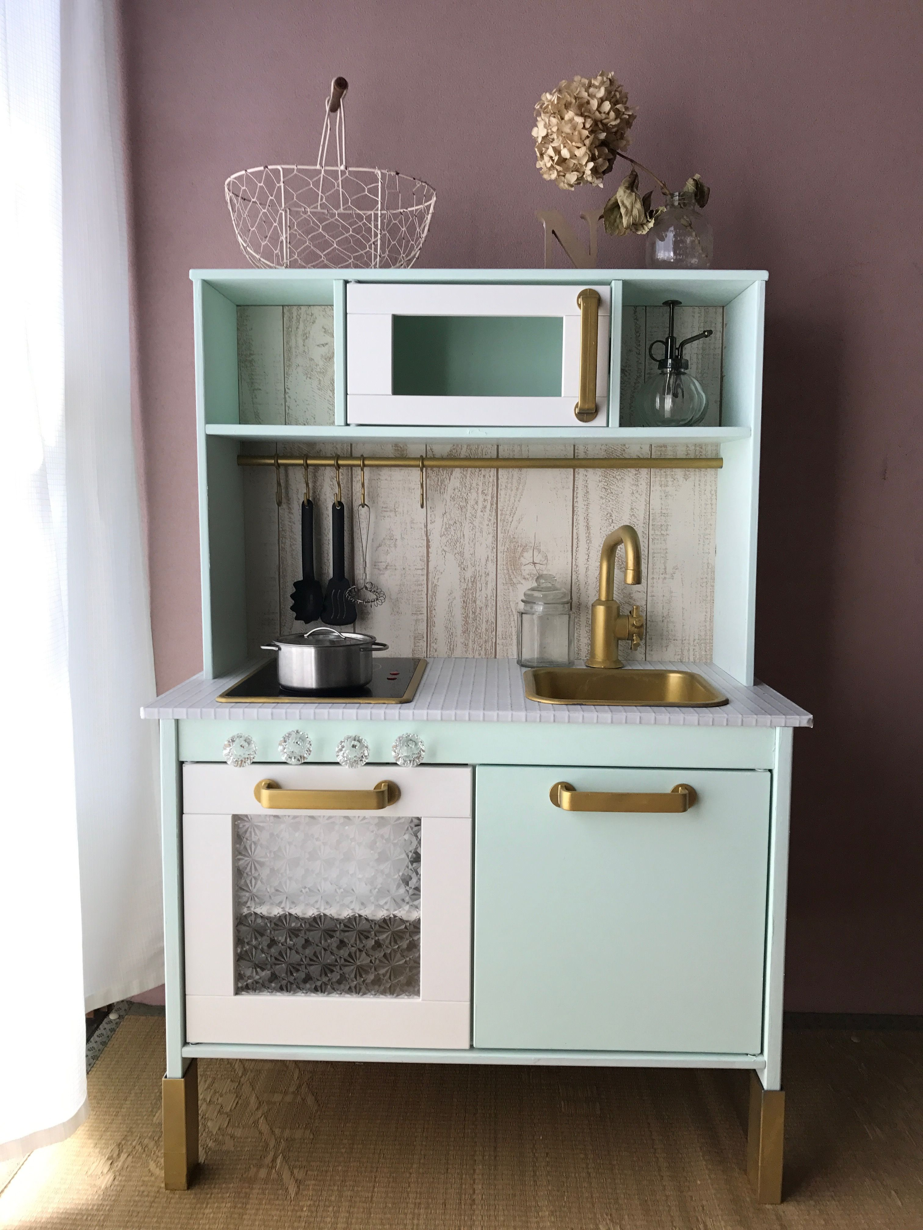 IKEA play kitchen,DIY | cucina bimbi ikea in 2018 | Pinterest ...