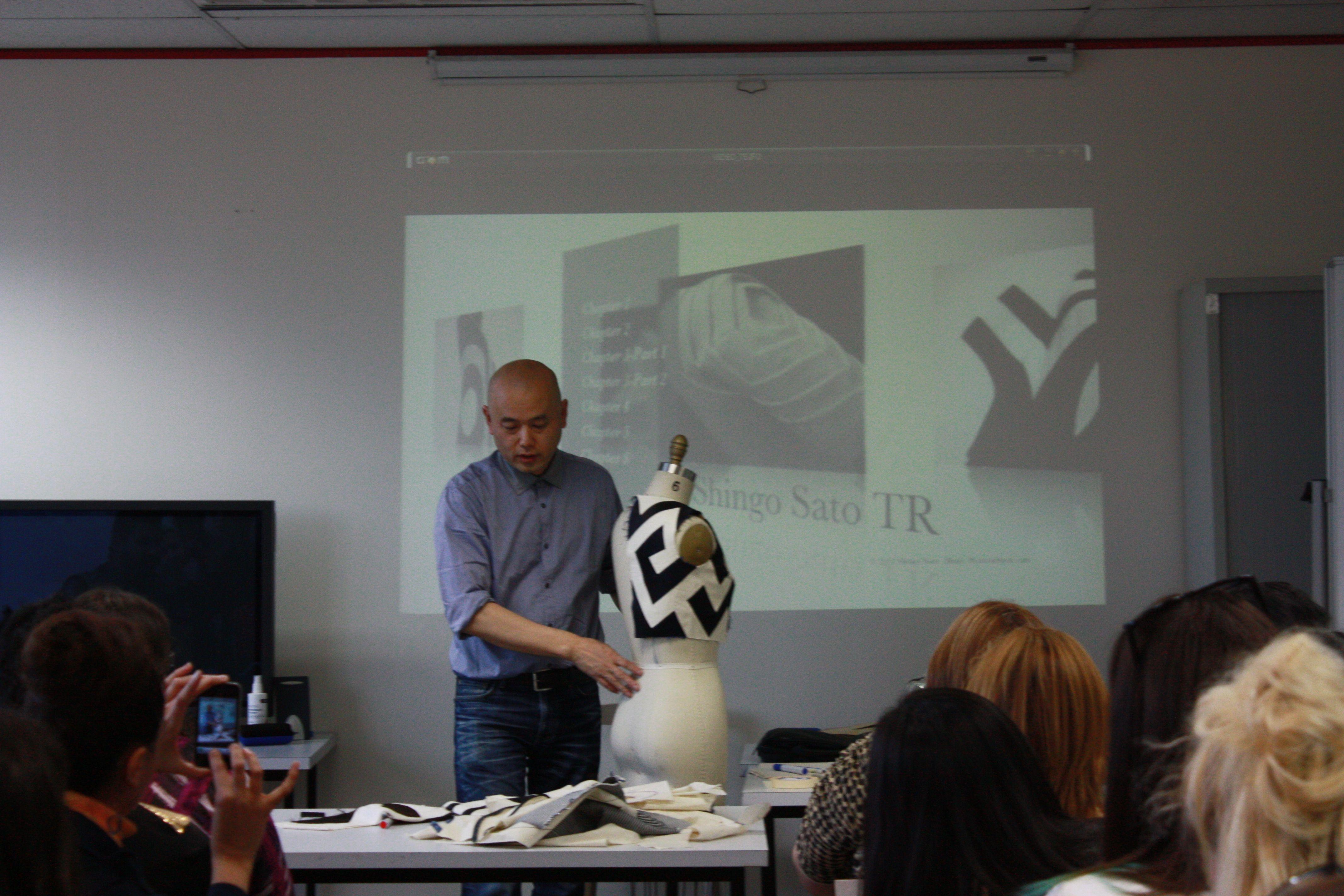 Melbourne School of Fashion - Shingo Sato Lecture