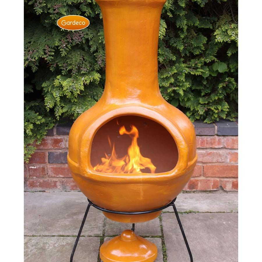 Ceramic Outdoor Fireplace Chiminea - Most Popular Interior Paint Colors Check more at http://www.mtbasics.com/ceramic-outdoor-fireplace-chiminea/
