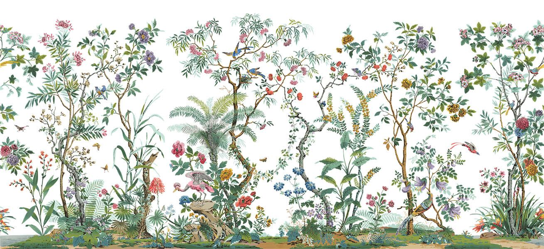 Décor chinois Modern Chinoiserie Pinterest Scenic wallpaper - realiser un plan de maison