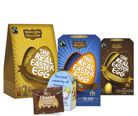 The Meaningful Chocolate Company Produces Three Large Easter