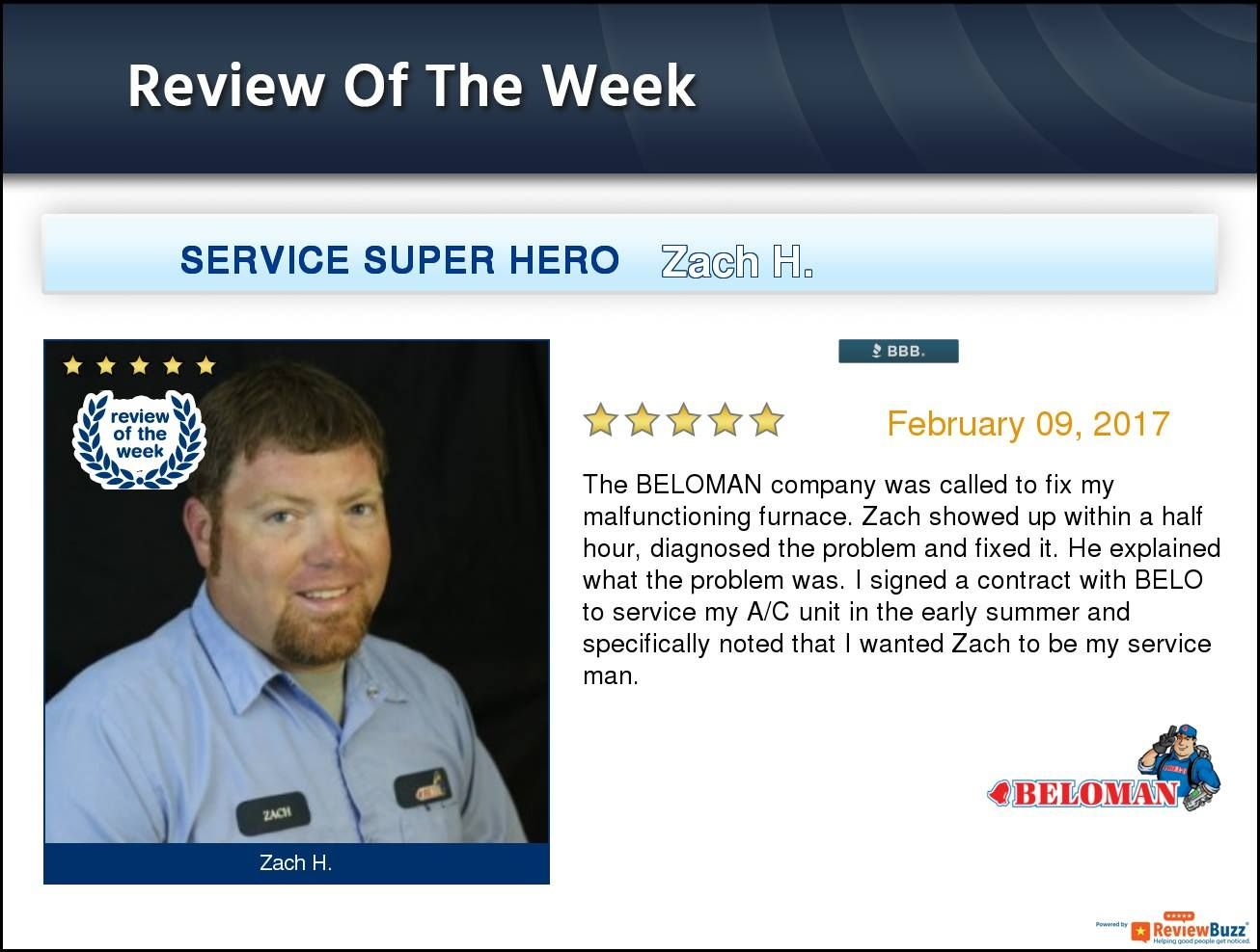 Check out the review of the week! BELOMAN TeamBELOMAN