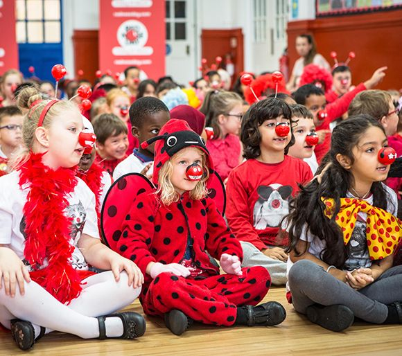 Red nose day dress up ideas