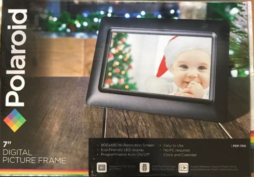New Polaroid 7 Inch Digital Picture Frame Pdf 100 800x480 Hi