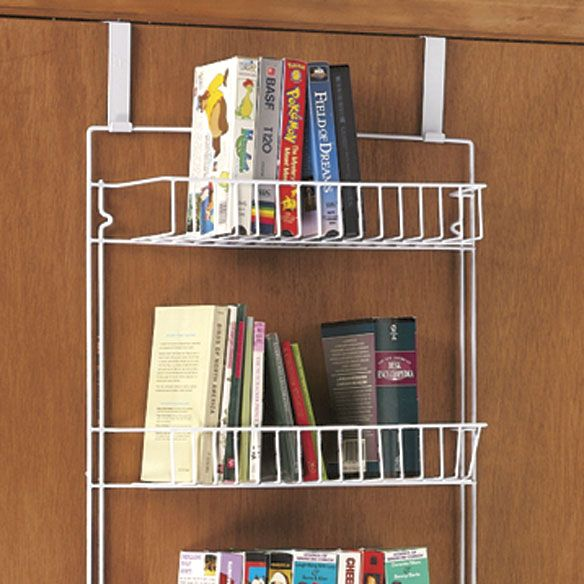 Superieur Over The Door Storage Rack   Different Take On The Shoe Organizer Storage  Option. I Need This For My Laundry Room Door!