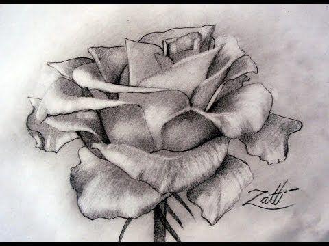 Desenhando Rosas Para Pinturas Sem Dificuldade Cantinho Do Video
