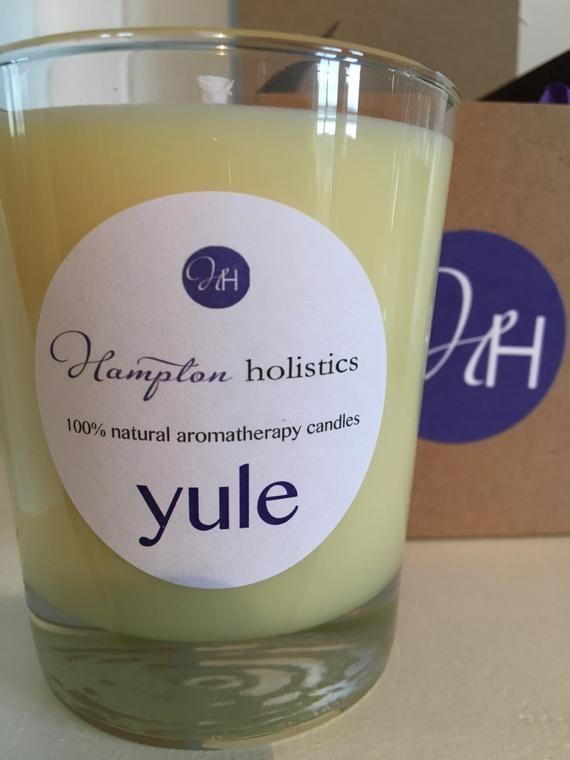 Aromatherapy candle 'Yule' #aromatherapycandles