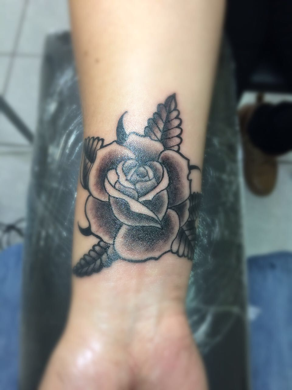 Tatto Rosa Muñeca Lady Tatuajes Tattoos