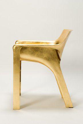 Golden Magistretti Karma Chair Okay Art Design Antiques Avec Images Mobilier De Salon Objets Chaise
