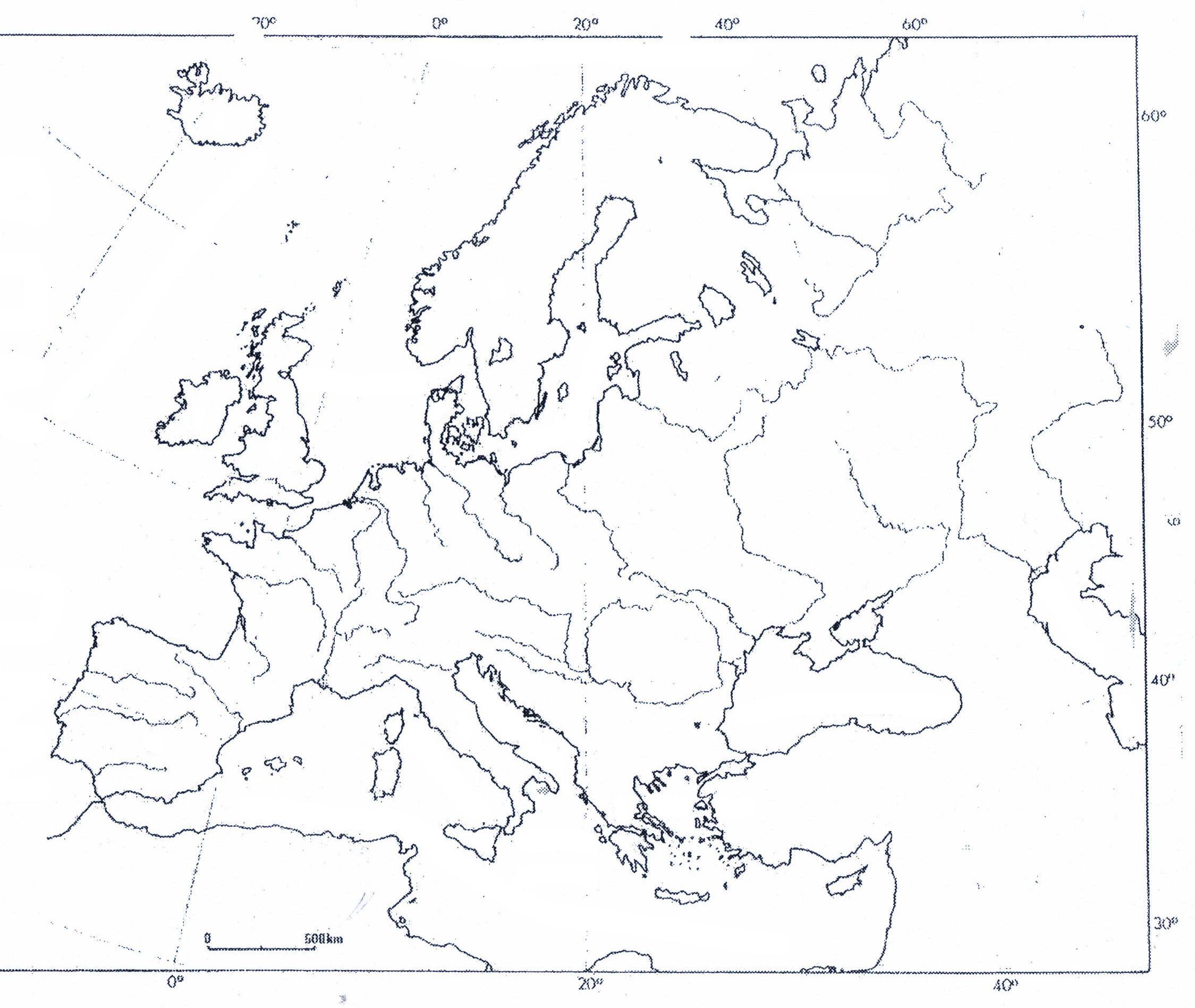 Blinde Kaart Europa Gebergten Google Zoeken Kaarten Europa