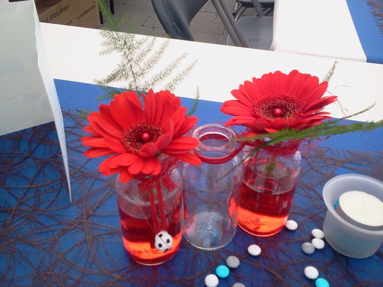 Tafeldecoratie zelf maken pinterest eerste communie decoratie en haar idee n - Feestelijke tafels ...