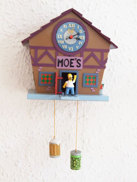 Reloj De Cuco Simpsons Relojes De Pared Los Simpsons Fondos De Los Simpsons Reloj De Cuco