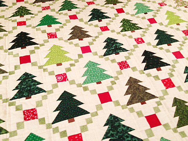 Such A Cute Christmas Quilt From Auntie Chris Quilt Fabric
