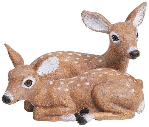 Deer Lawn Ornament Baby Fawn Statue