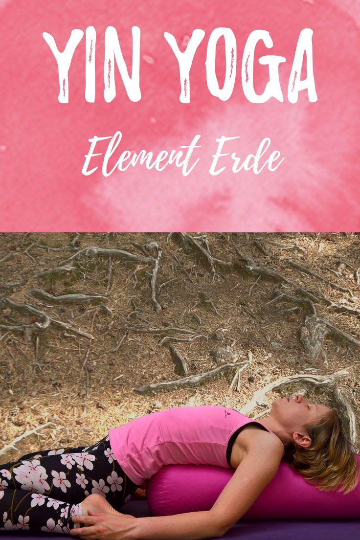 Yin Yoga Element Erde - Spätsommer und Übergangszeit #pilatesyoga