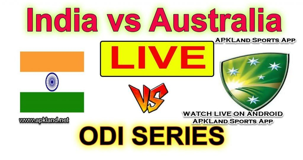 Watch India vs Australia 2017 Live Cricket Streaming on