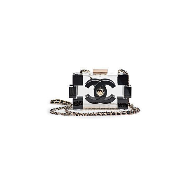 Chanel Spring 2013 Bag Collection Spotted ❤ liked on Polyvore featuring bags, chanel and clutches