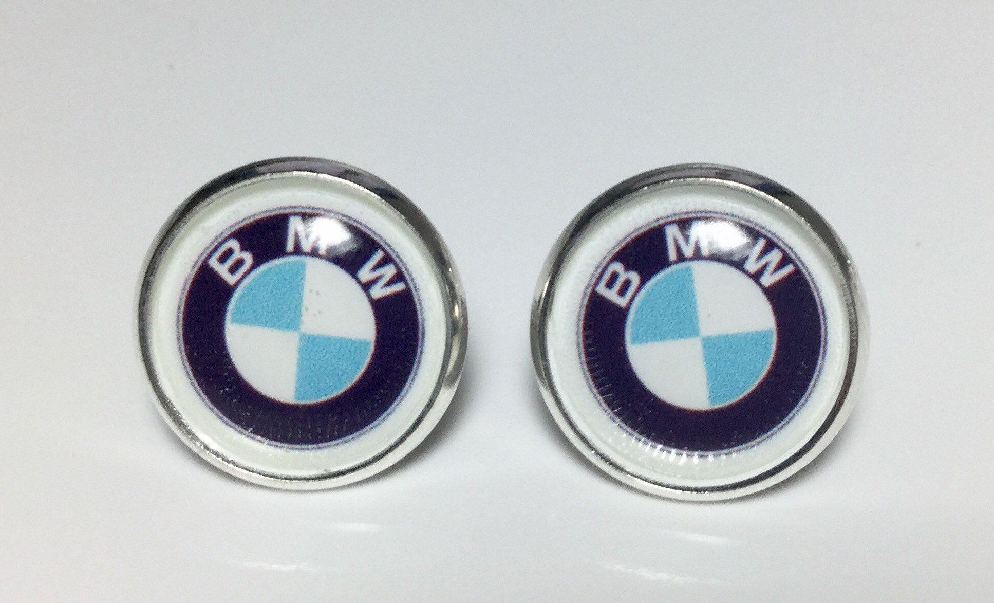 BMW Earrings BMW Logo Jewelry Luxury Classic Car Lovers