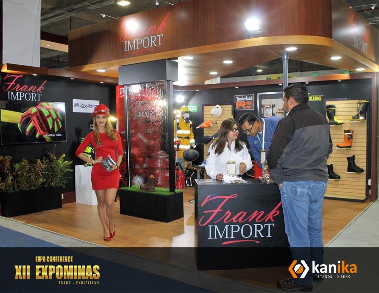 Elaboracion De Stand Para Feria Minera Realizada En Quito Ecuador