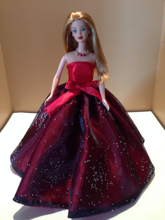 ON SALE Lily's Dolls OOAK Holiday Gala Pageant by LilinoeHandbags
