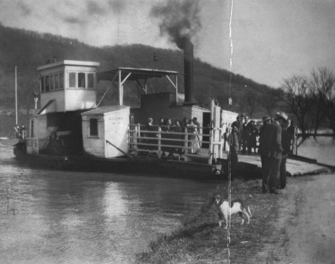 Boone No 6 Ferry Boat Description Sidewheel