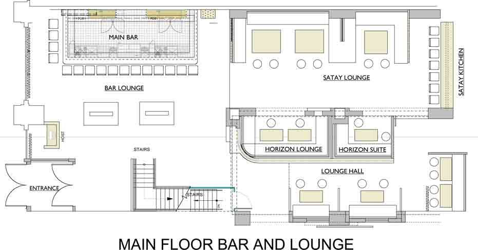 Commercial Bar Floor Plans The Lakes Country Club On Site Sales