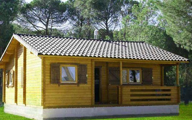 Construcciones de casas de madera prefabricadas cocinas pinterest casas casas de madera y - Construcciones de casas de madera ...