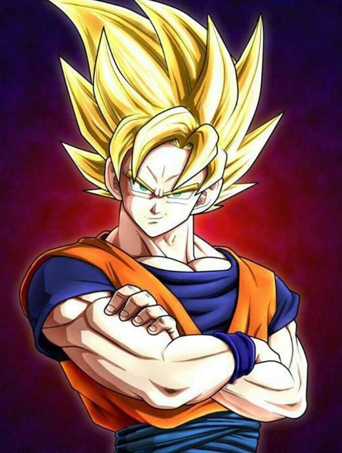 Dragon Ball Z Anime Characters : Eveyone should watch this show goku is one of the first