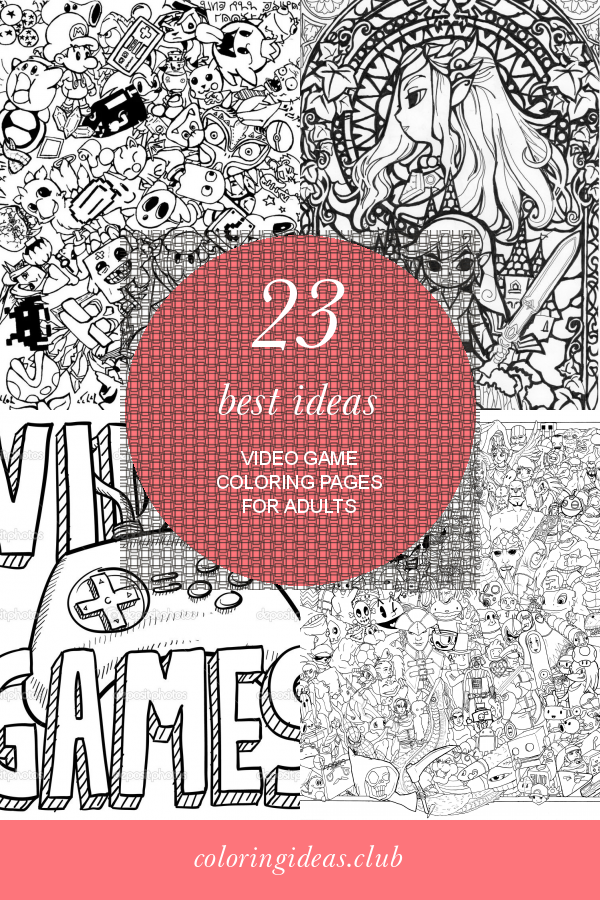 23 Best Ideas Video Game Coloring Pages For Adults In 2020 Adult Coloring Pages Coloring Pages Detailed Coloring Pages
