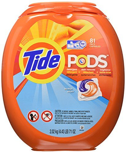 Tide Pods Laundry Detergent Ocean Mist 81 Count Review Tide