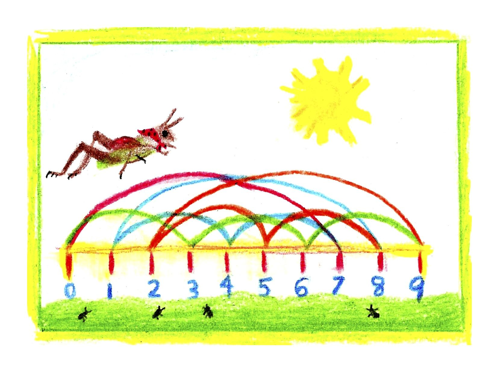 After Telling The Story The Grasshopper And The Ants Use Elements Of It To Illustrate A