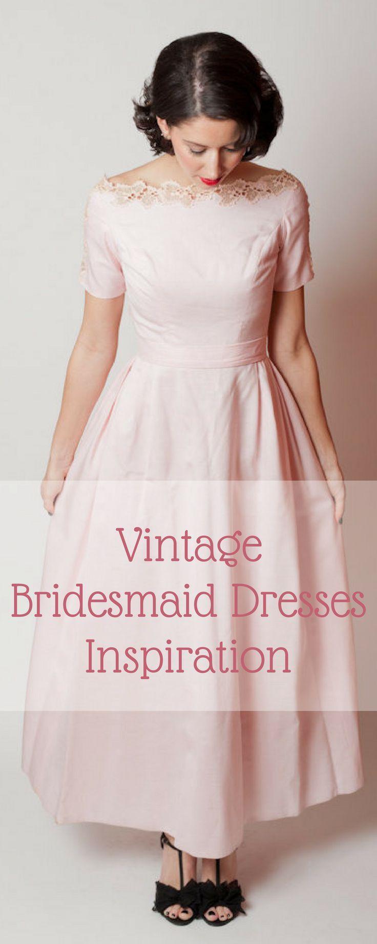 Vintage bridesmaid dresses i love vintage style style and dresses vintage bridesmaid dresses ombrellifo Image collections