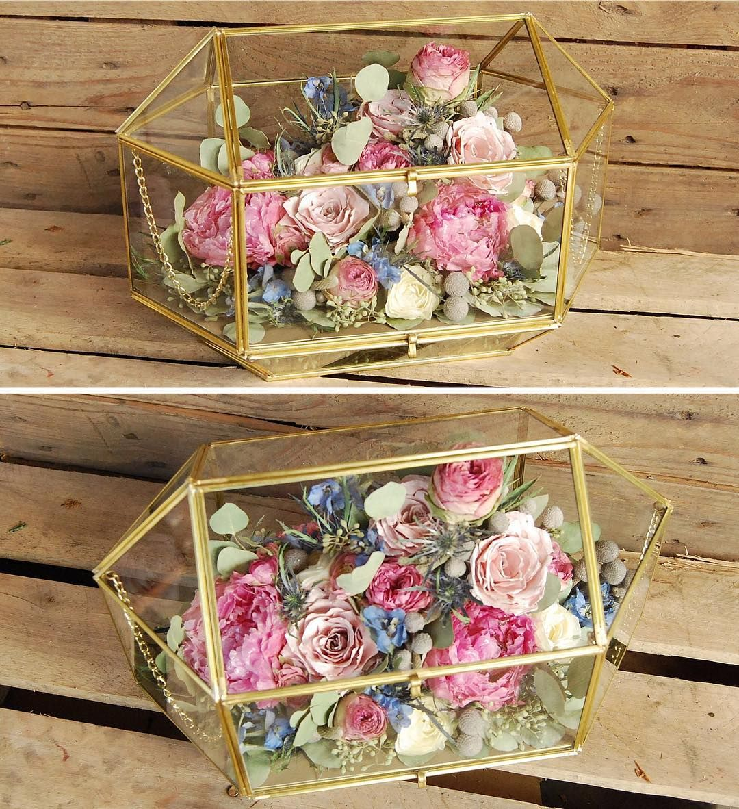 We created this clients bouquet preservation design in yet
