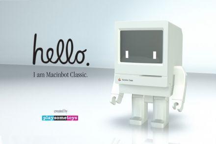 Macinbot Classic Collectible Figure
