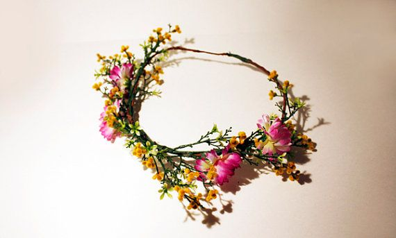 Sam Crown #OhanaNYC #flower #crown #floral #festival #flowerchild #boho